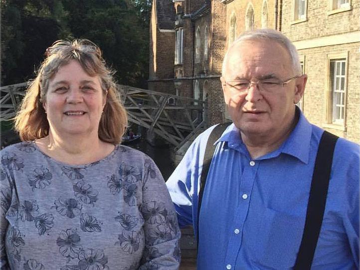 Bert and Doreen Ritchie